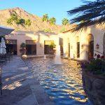 Fountain, Royal Palms
