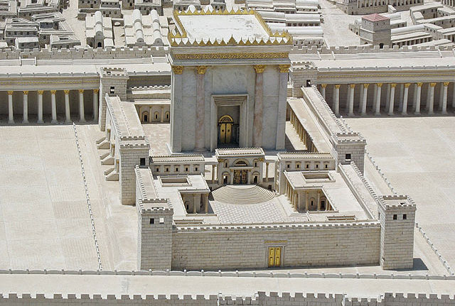 Reconstruction of the Temple Complex in Jerusalem at the time of Jesus